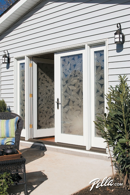 Create A Spectacular Patio Entrance W Pella Designer Series Hinged Patio Do