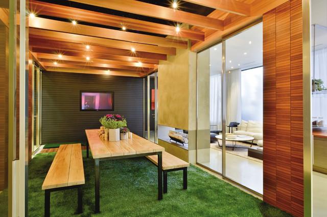 Crescendo Designs Experience Center and Showroom contemporary-porch