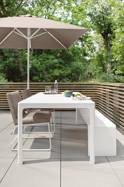 Crescent Table - Modern - Patio - Minneapolis - by Room & Board