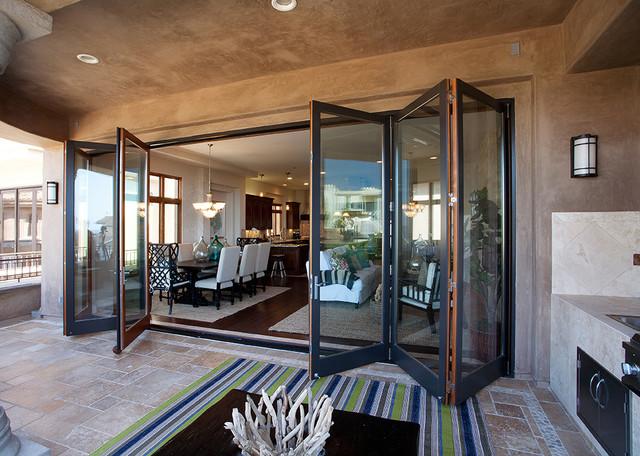 Cresent Del Sol mediterranean-patio & Cresent Del Sol - Mediterranean - Patio - San Diego - by LaCantina Doors