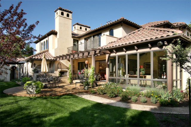 Crestmoor Spanish Revival Mediterranean Patio Denver