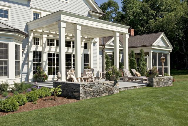 Crisp Architects farmhouse-patio