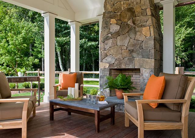 Crisp Architects traditional-patio