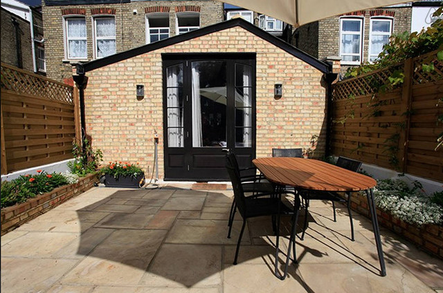 Crouch End Victorian House Rear Extension Transitional