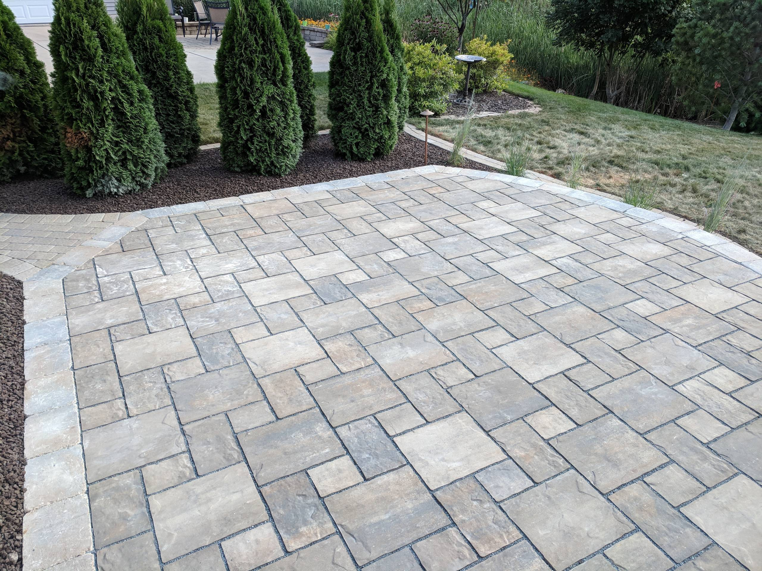 Crown Point Patio and Lighting