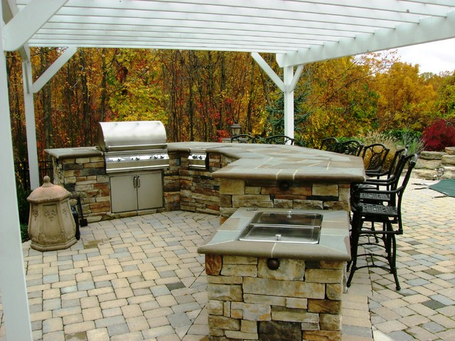 Crownsville Residence traditional-patio