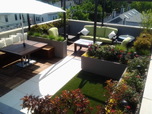Modern exterior by lake forest decks patios amp outdoor enclosures