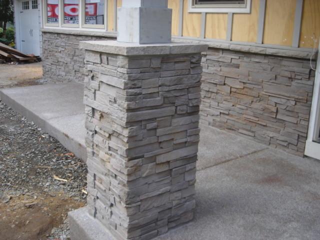 Cultured Stone Veneer - Exterior traditional-patio
