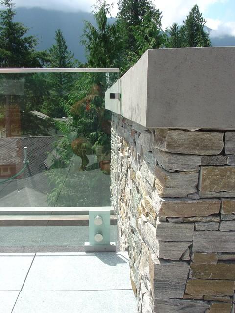 Cultus Lake Beach House modern-patio