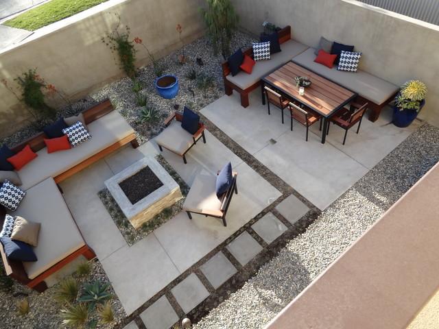 Culver City modern-patio