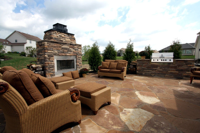 Current Outdoor Living Trends contemporary-patio