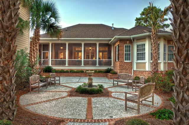 Custom Built Brick And Stucco Home