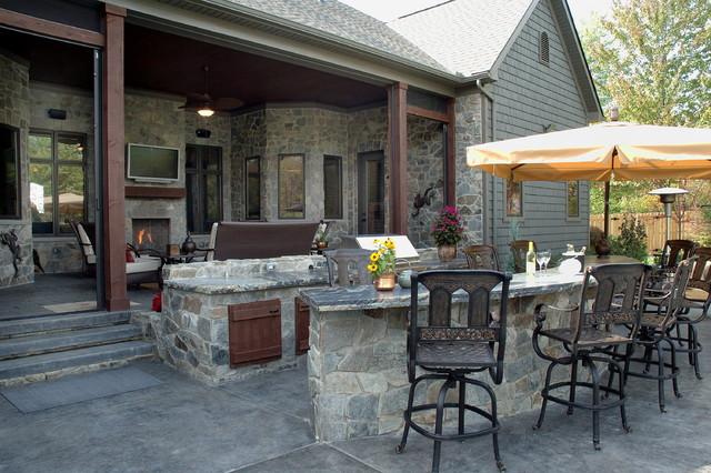 Custom Built Home eclectic-exterior