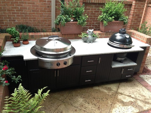 Custom Cabinets from Select Outdoor Kitchens - Traditional ...