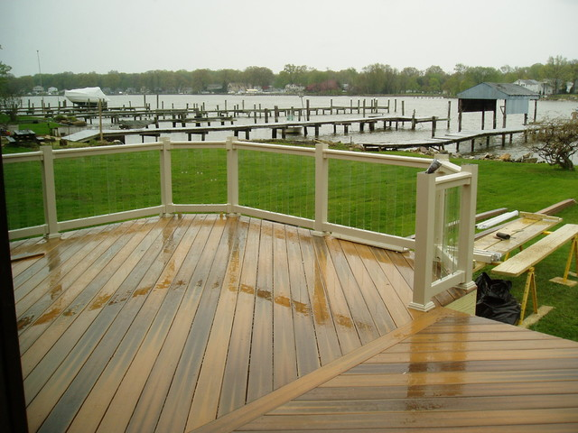 Custom Backyard Deck Designs : Custom decks  Traditional  Patio  Baltimore  by Creative Deck