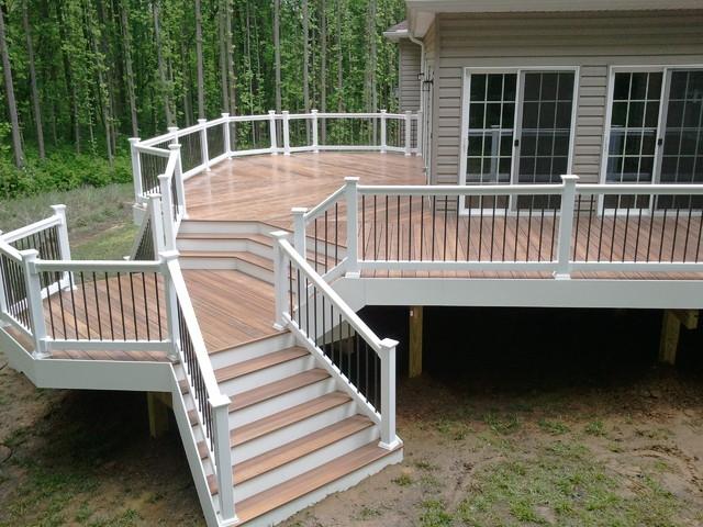 Custom decks traditional patio baltimore by for Custom deck ideas