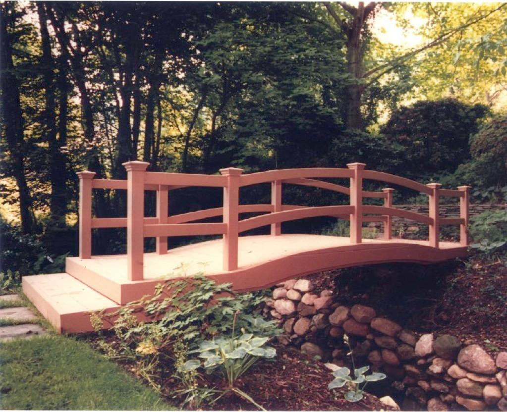 Custom Garden Bridges, Decks, Pergolas & Gazebos