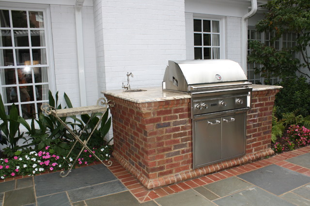 Custom Grilling Station - Traditional - Patio - other ... on Patio Grill Station id=18636