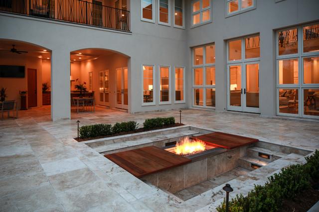 Custom home in south baton rouge la modern patio for Custom home designs baton rouge