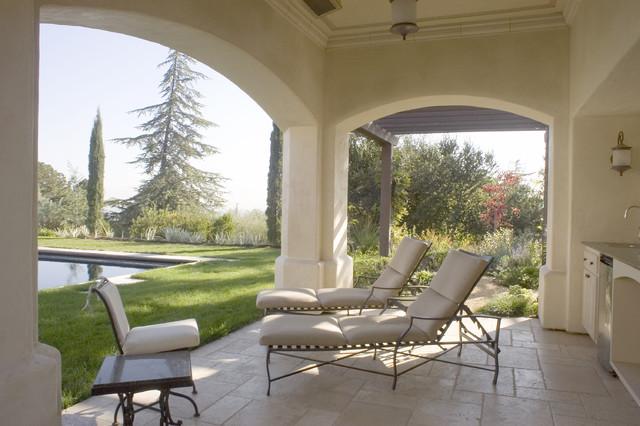 Custom Home Los Altos Hills, Ca. mediterranean-patio