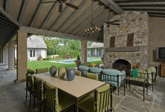 Custom Homes Traditional Patio Other Metro By Jack
