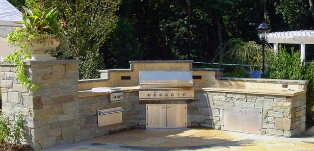 Custom Outdoor Bar Amp Bbq Grill Design Amp Installation