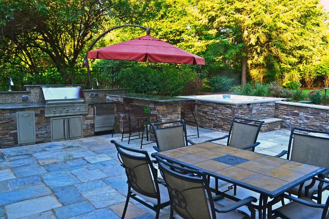 Custom Outdoor Bar & BBQ Grill Design & Installation ...