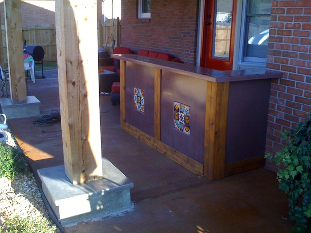 Custom Outdoor Bar Traditional Patio Nashville By