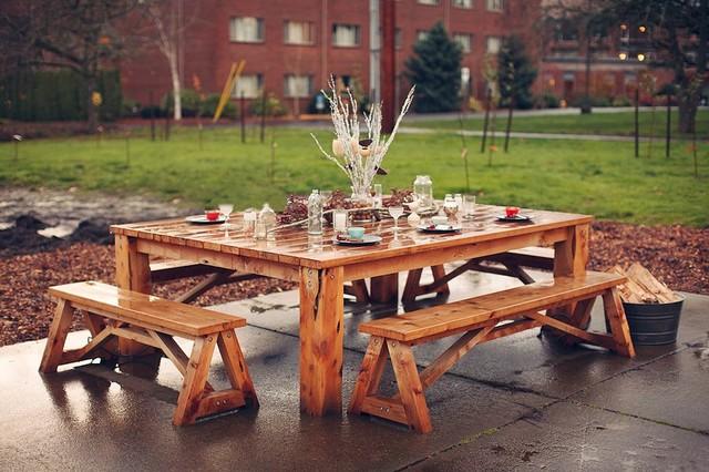 Custom Outdoor Furniture Rustic, Rustic Patio Furniture