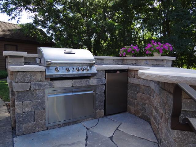 Custom Outdoor Kitchen contemporary-patio