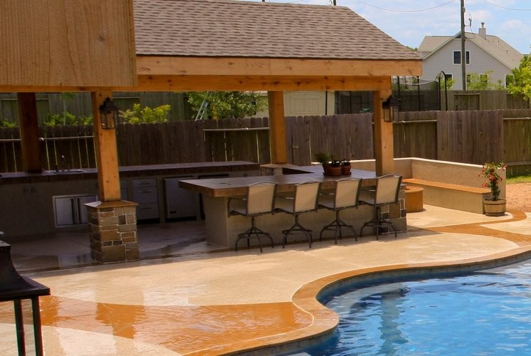 Custom Outdoor Kitchens - Contemporary - Patio - Houston ...