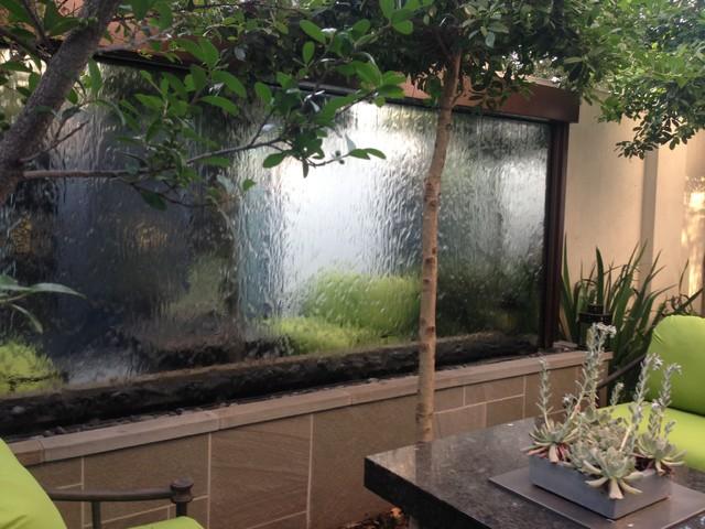 Custom Outdoor Mirror Water Feature Houston Tx
