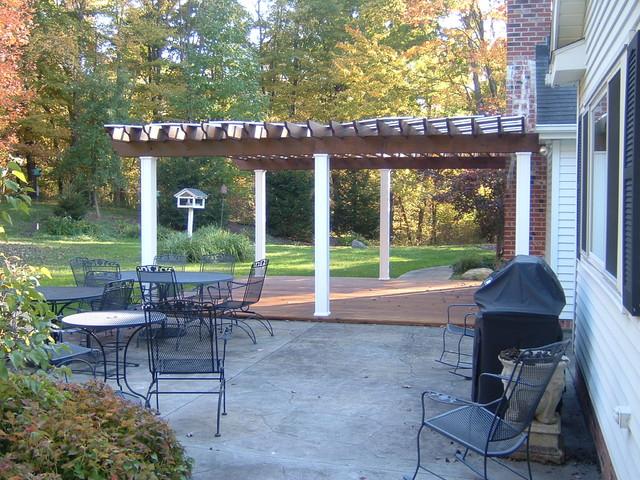 Custom Pergola traditional-patio