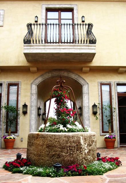 custom windows mediterranean-patio
