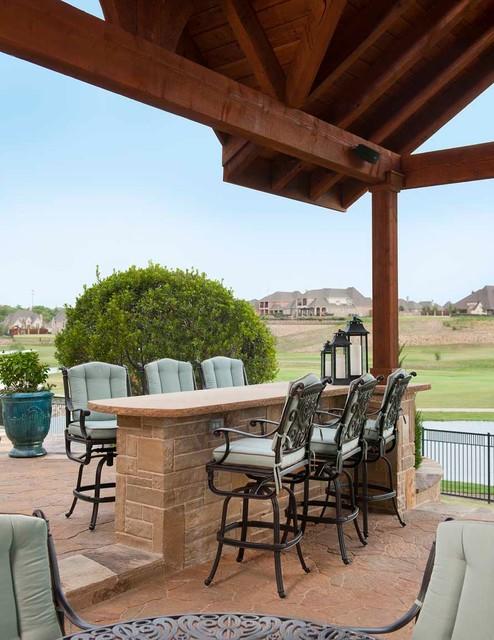 Dallas Outdoor Living traditional-patio