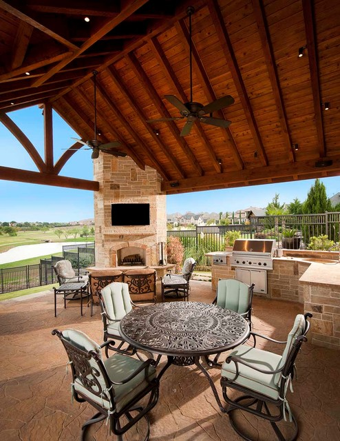 Dallas outdoor living traditional patio dallas by for Dallas outdoor kitchens