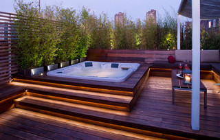 Dallington Terrace - Tropical - Patio - London