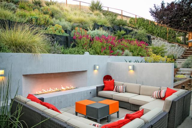 Danville Contemporary Patio San Francisco By