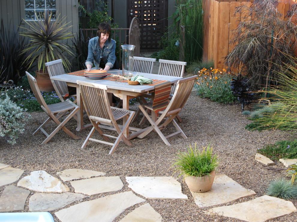Tuscan patio photo in San Diego