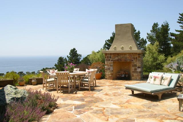 Debra Campbell Design rustic-patio