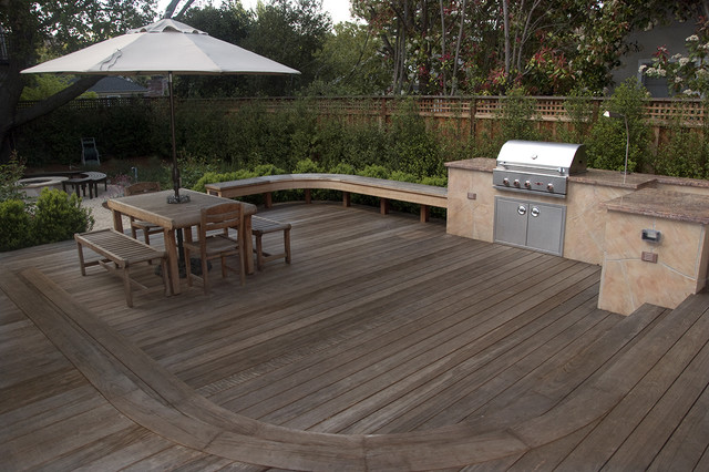 Deck north facing mediterranean patio san francisco for Verdance landscape design