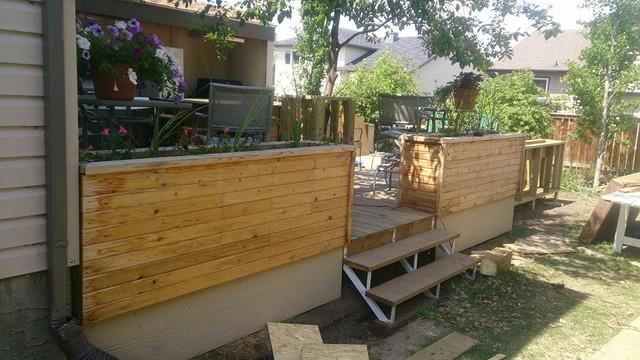 Deck Planters patio