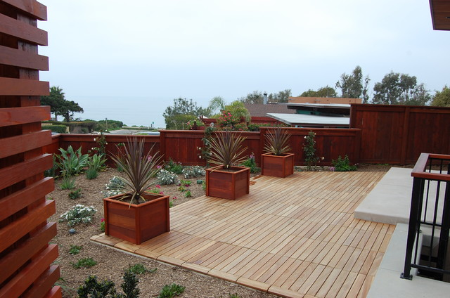 Deck tiles by design for less modern patio other for Garden tiles designs