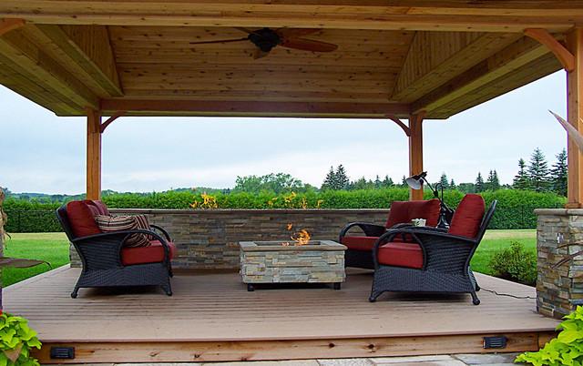 Decks & Garden Structures traditional-patio