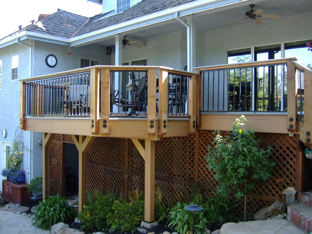 Decks and Outdoor Structures traditional-patio