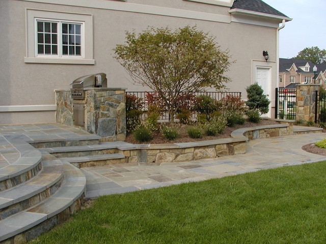 Decks and Patios traditional-patio