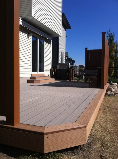 Decks traditional-patio