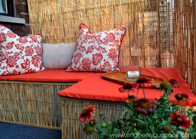 Decorating a small apartment balcony - contemporary - patio - new