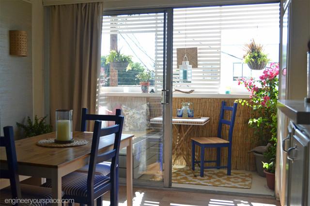 Decorating A Small Apartment Balcony In LA