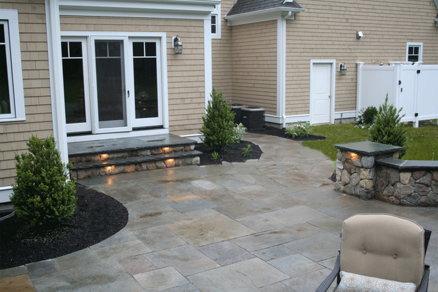 traditional patio by Captain's Landscape Design & Build